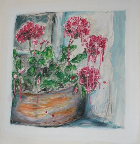 Study for Nan's Geraniums