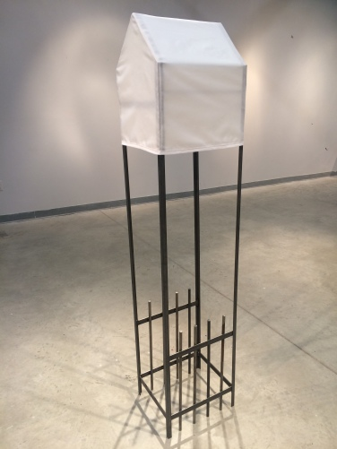 Unstable Footholds, Inadequate Housing, Relentless-Aylan-Couchie-Sculpture