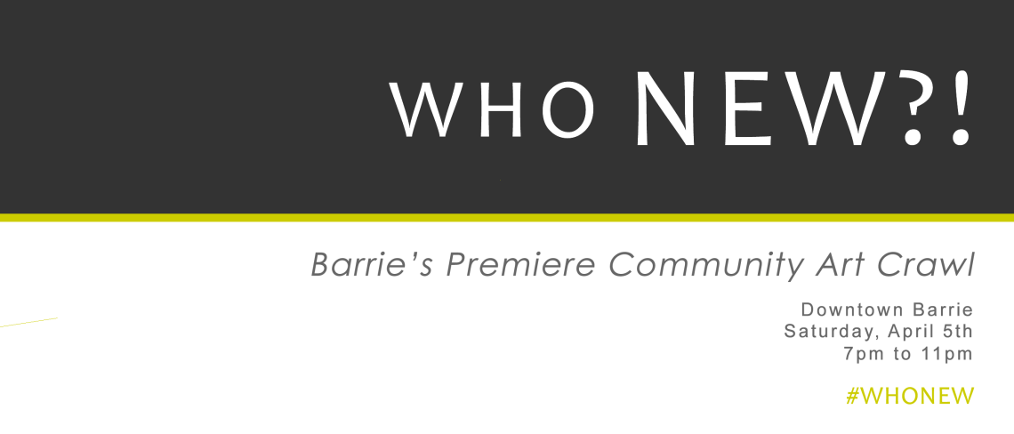 Barrie's Premiere Community Art Crawl
